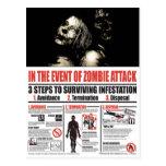En caso de POSTAL del ataque del zombi