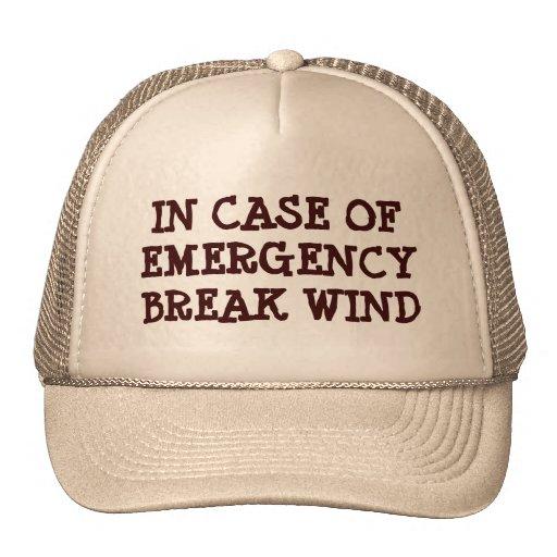 En caso de urgencia gorro