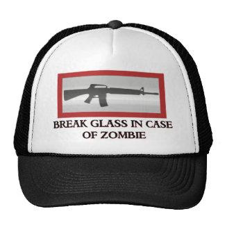 En caso de zombi gorras de camionero
