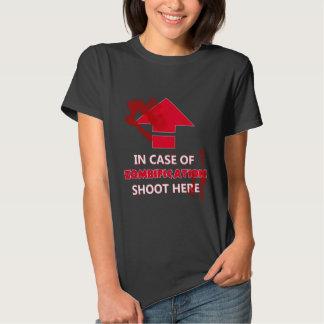 En caso de Zombification Camisas