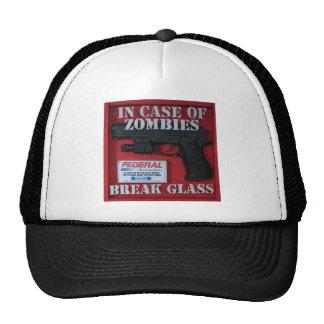 En caso de zombis gorras