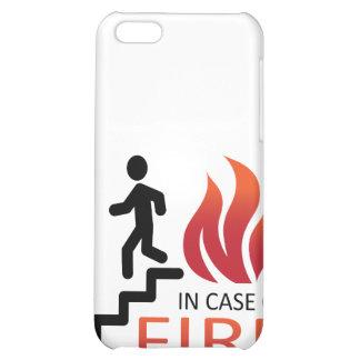 En caso del fuego