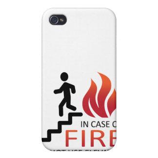 En caso del fuego iPhone 4/4S carcasa