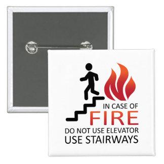 En caso del fuego pin