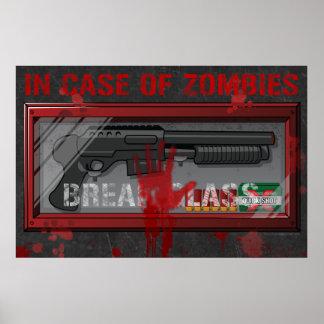 En caso del poster del videojugador de los zombis