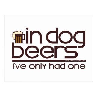 En cervezas del perro…. postal