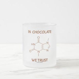 En chocolate confiamos en (la molécula de la tebro tazas
