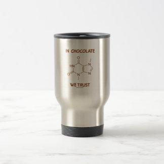 En chocolate confiamos en (la molécula de la tebro taza de café