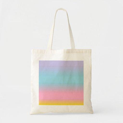 En colores pastel bolsa de mano