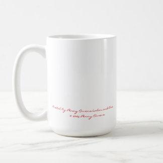 En colores pastel - corazón por el penique Owens Taza De Café
