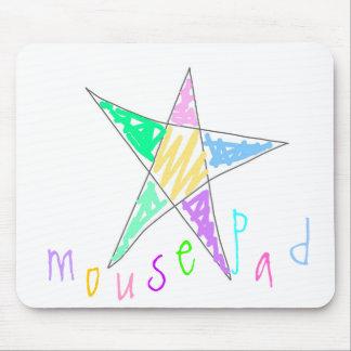 En colores pastel mousepads