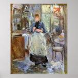En comedor de Berthe Morisot Poster