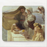 En Cradle del Aphrodite, 1908 (aceite en el panel) Tapete De Ratones