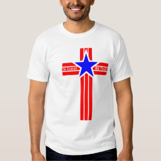 En Cristo confiamos en la camiseta Polera