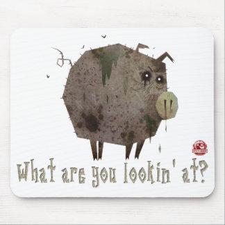 ¿En cuál es usted Lookin? Mousepad Alfombrilla De Ratones