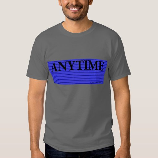 En cualquier momento camisa del fiesta