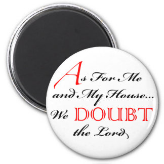 En cuanto a mí imán de la duda