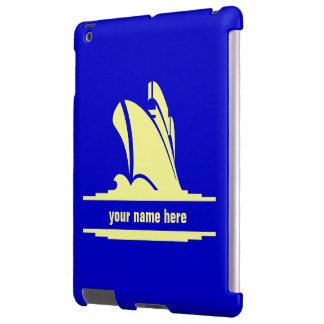 En curso caja personalizada funda para iPad
