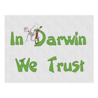 En Darwin confiamos en Postales