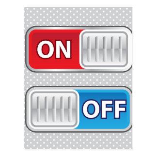 En de estilo del Web del interruptor Postales