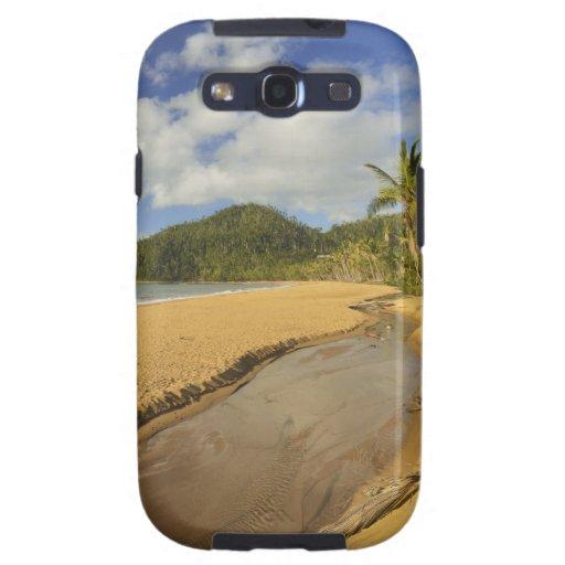 En de marea la playa de la misión del río del EL Funda Para Samsung Galaxy S3