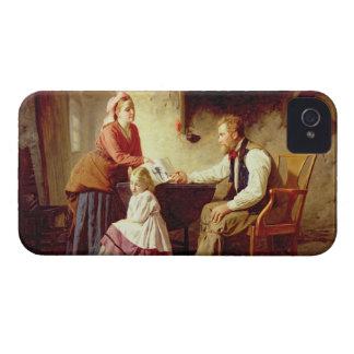 En deshonra, 1875 (aceite en lona) iPhone 4 Case-Mate coberturas