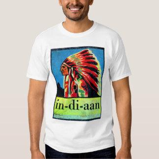 En-di-aan indios holandeses retros del kitsch 30s remera