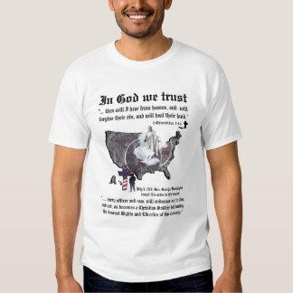 EN DIOS CONFIAMOS EN - 2 7:14 de las crónicas Camisas