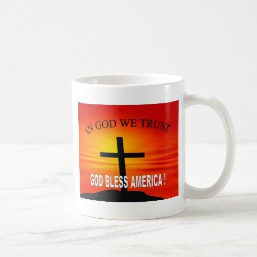 En dios confiamos en 4 taza de café