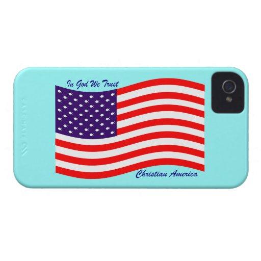 En dios confiamos en al cristiano América del ~ iPhone 4 Cobertura