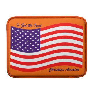 En dios confiamos en al cristiano América del Funda MacBook
