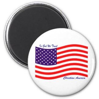 En dios confiamos en al cristiano América del ~ Iman De Frigorífico