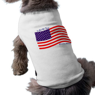 En dios confiamos en al cristiano América del Camisas De Perritos