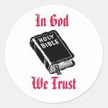 En dios confiamos en al pegatina