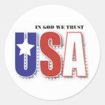 En dios confiamos en la etiqueta