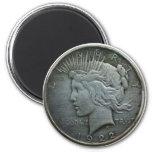 En DIOS confiamos en - la moneda de 1922 Imán Para Frigorifico
