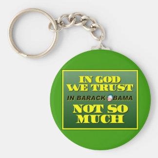 En dios confiamos en llaveros personalizados