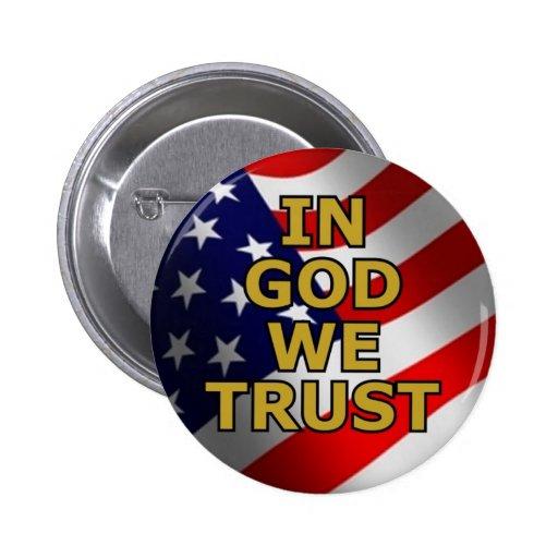 En dios confiamos en pin