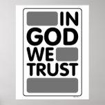 En dios confiamos en poster