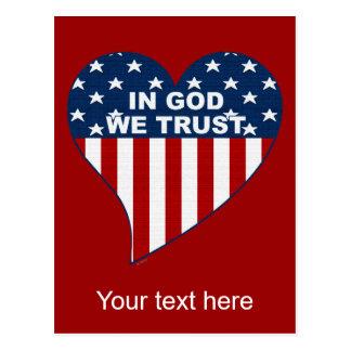 En dios confiamos en postales