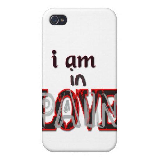 En dolor del amor iPhone 4 fundas