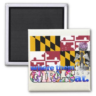 ¿En dónde ellos chicas de Marylander? Iman