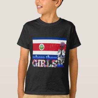 ¿En dónde ellos chicas de Rican de la costa? Poleras