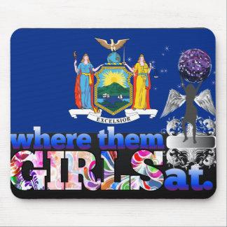 ¿En dónde ellos chicas del neoyorquino Alfombrilla De Ratones