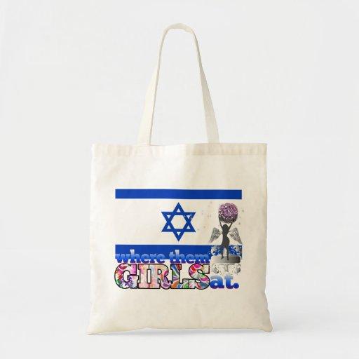 ¿En dónde ellos chicas israelíes? Bolsas Lienzo