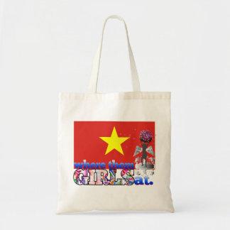 ¿En dónde ellos chicas vietnamitas? Bolsa