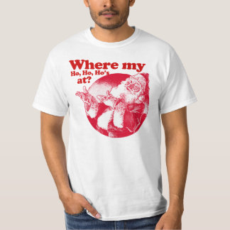 ¿En dónde mi Ho Ho Ho? Papá Noel Remeras