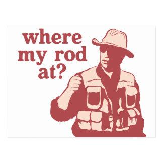 ¿En dónde mi Rod? Postal