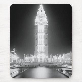 En Dreamland en la noche, Coney Island, N.Y. c1905 Alfombrillas De Ratones