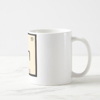 En - Egg Nog Chemistry Periodic Table Symbol Coffee Mug